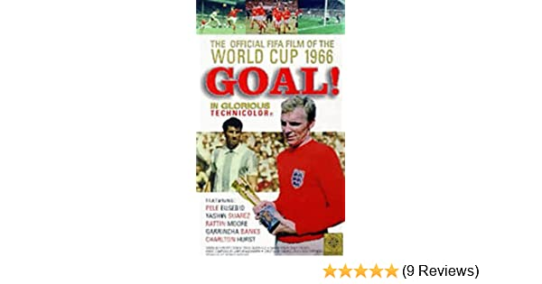 Goal The Official Fifa Film Of The 1966 World Cup Vhs
