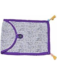 Lakshyam Baby Girls' Sling Bag White (Pack Of 2) (SLING-001)