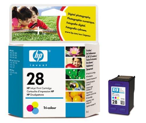 HP 28 Farbe Original Druckerpatrone für HP Deskjet, HP Officejet, HP PSC -