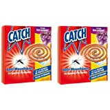 Catch spirale anti-moustiques x10 - parfum Géranium - lot de 2