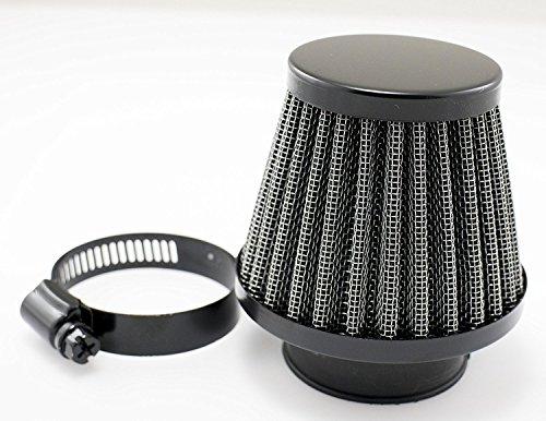 Price comparison product image Etbotu Satin Black 54mm Motorcycle Air Filter Pod Style CB750K KZ550 KZ650 GS550