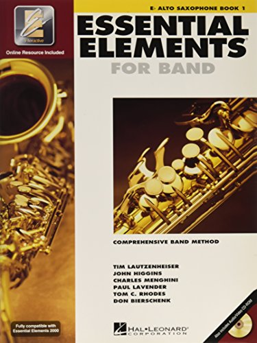 Essential Elements 2000 Eb Saxophone Book 1