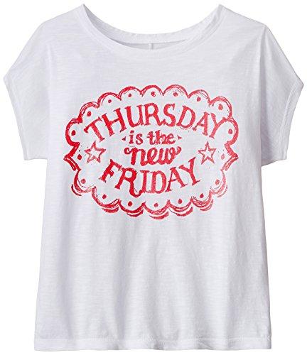 Chemistry Girl T-Shirt (GS15-008KTTEESSV_White_7-8 Years)