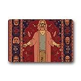 qicaiyang The Big Lebowski Custom Machine Washable Doormat Gate Pad rug Non-Woven Fabric Top(23.6X15.7 inch) by Skoyi