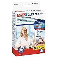 Tesa Spar-Set 2x: 50378-00000-01 Clean Air Feinstaubfilter S 10 x 8 cm FARBLOS
