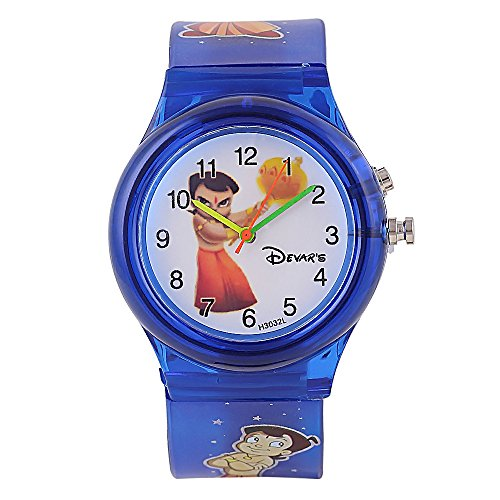 Devars H3032L-DBL-CHOTABHEEM  Analog Watch For Kids
