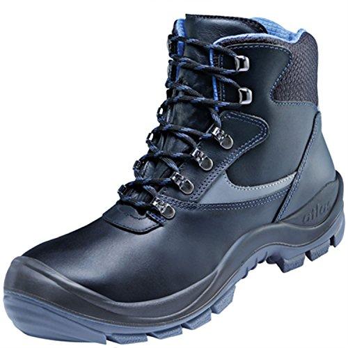 ESD Chaussures de sécurité Ergo-Largeur de Med 500Blueline dans 12conforme EN ISO 20345S3SRC de Atlas noir