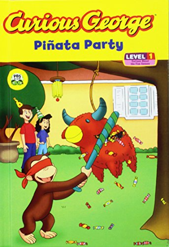Curious George Pinata Party (Curious George Early Readers)