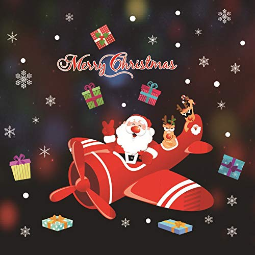 Adesivi Buon Natale.Vetrofania Buon Natale Strange Things