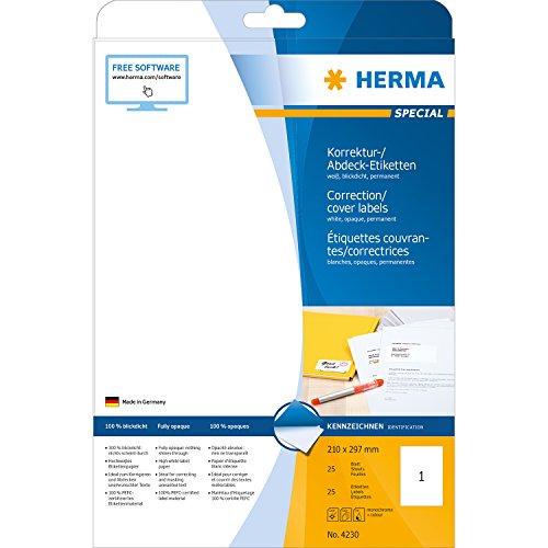 herma-4230-korrektur-abdecketiketten-a4-papier-matt-blickdicht-210-x-297-mm-25-stuck-weiss