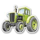 2x Farm Traktor vinyl Aufkleber Aufkleber Laptop Reise Gepäck Auto Ipad Schild Fun # 5434 - 10cm/100mm Wide