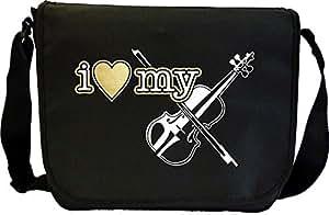 Violin I Love My - Sheet Music & Accessory Bag MusicaliTee