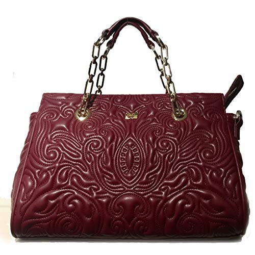 Cavalli Class Medium Handbag Blossom CRC004 Red