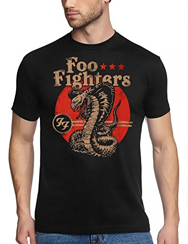 FOO FIGHTERS COBRA - T-Shirt black, GR.XXL -