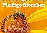 Fleißige Bienchen (Wandkalender 2019 DIN A4 quer): Fotos von Honigbienen bei Ihrer fleißigen Arbeit (Monatskalender, 14 Seite