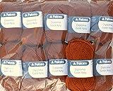 500g Sockenwolle Paket, 10x50g Patons Diploma Gold 4ply Fb. 04202 - squirrel, Wollpaket Sockenwolle zum Stricken und Häkeln