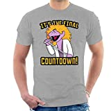 The Final Countdown The Count Sesame Street Europe Men's T-Shirt