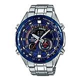 Casio Herren Chronograph Quarz Uhr mit Edelstahl Armband ERA-600RR-2AVUEF
