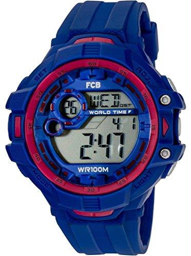 Radiant Reloj Hombre de Digital con Correa en Caucho BA07601