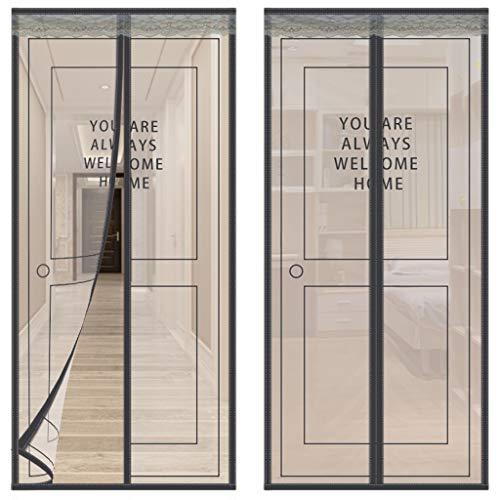 vitutech Doornet9 Moustiquaire 90 x 210 cm Noir Taille M