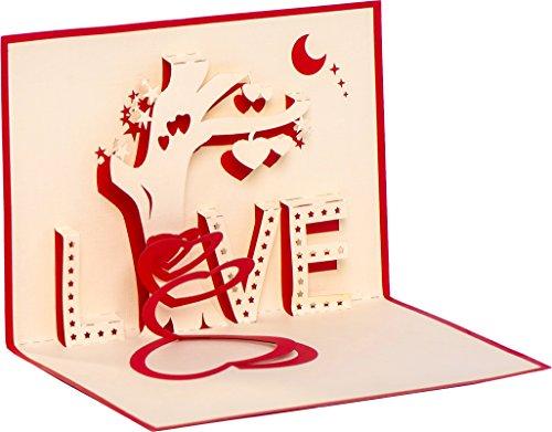 Biglietto di nozze, biglietto di san valentino