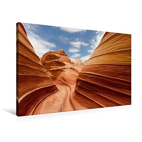 Premium Textil-Leinwand 90 cm x 60 cm quer, Ein Motiv aus dem Kalender USA Landschaftskalender   Wandbild, Bild auf Keilrahmen, Fertigbild auf echter Leinwand, Leinwanddruck (CALVENDO Orte)