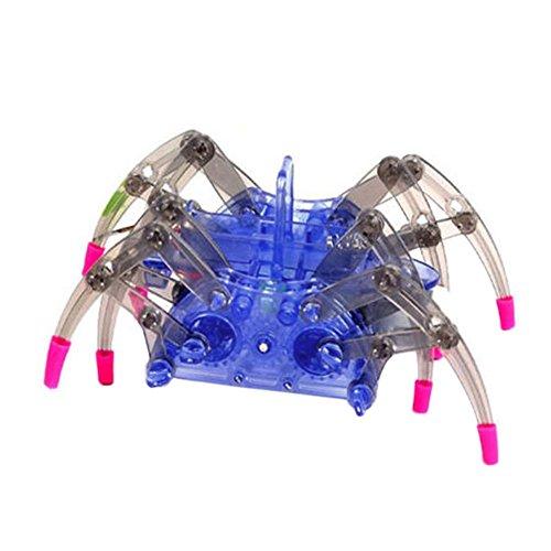 Kit Roboter-hand (domybest Elektro Spider Robot Spielzeug DIY Puzzle Simulation Spider Spielzeug Educational Sitzungen Toys Kits für Kinder Kinder Weihnachten Spielzeug)