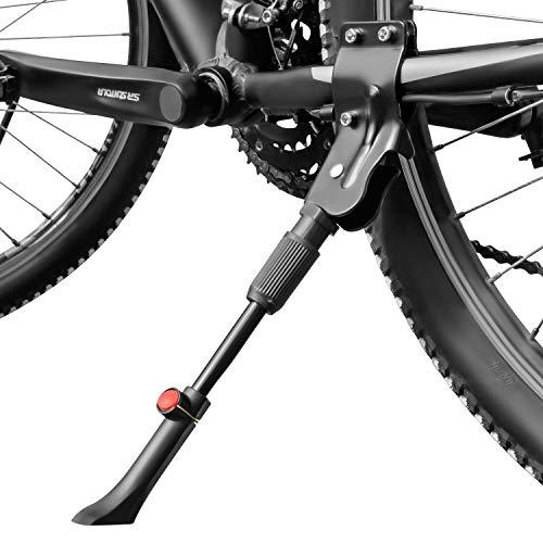 """CYCLEHERO Stabiler Fahrrad Ständer (mit Verstellknopf - bis 35kg Fahrrad-Gewicht) Fahrradständer für Mountainbike in Größe 24\"""" - 29\"""" geeignet - Ständer für Trekkingrad, Damenrad und auch E-Bikes …"""