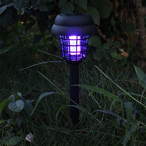 Andouy Tragbare Solarenergie Moskito Lamp Plug-in Schädlingsbekämpfer Mückenschutz