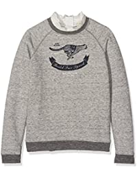 Scotch & Soda Vintage Inspired with Woven Broderie Detailing, Sweat-Shirt Fille