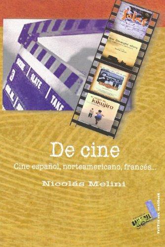 De cine (Textos del desorden) por Nicolás Melini Concepción