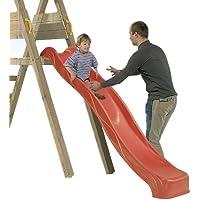 Tobogán Infantil 135 cm BlueRabbit - Parque Infantil - Color Rojo