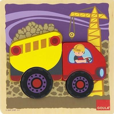 Diset 53092 - Puzzle Camion de Diset