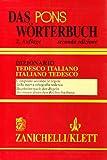 Image de Pons Wörterbuch. Dizionario tedesco-italiano, ita