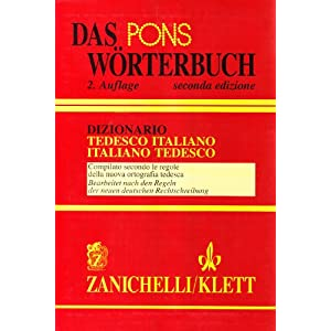 Pons Wörterbuch. Dizionario tedesco-italiano, ita