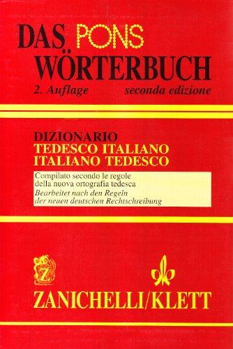 Das Pons Wörterbuch. Dizionario tedesco-italiano, italiano-tedesco