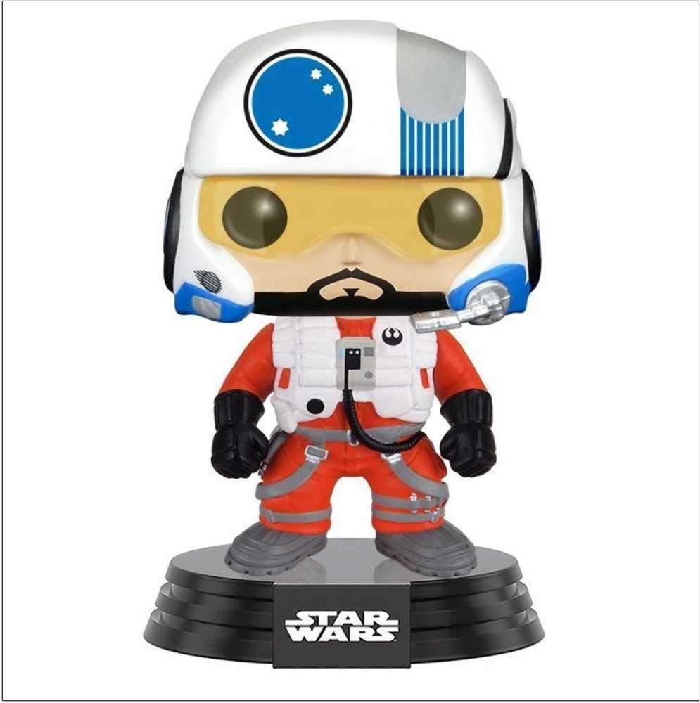 Funko Pop Snap Wexley (Star Wars 110) Funko Pop Star Wars