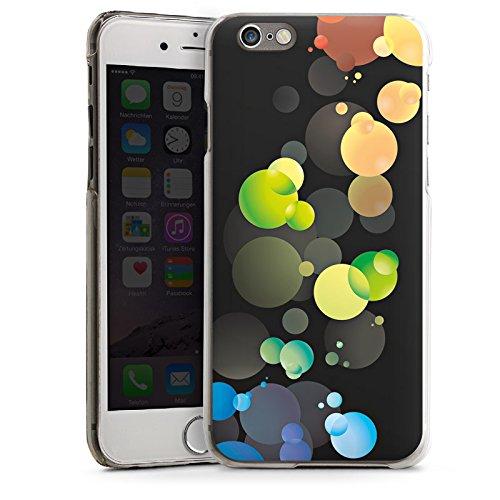 Apple iPhone 5s Housse étui coque protection Bulles Bulles Points CasDur transparent