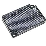 Cablematic - Espejo reflector catadióptrico rectangular para fotocélula fotoeléctrica 55x35mm
