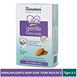 Himalaya Gentle Baby Soap, 75g - Pack of 5