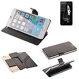 K-S-Trade Schutz Hülle für FANTEC Limbo Schutzhülle Flip Cover Handy Wallet Case Slim Handyhülle bookstyle schwarz