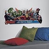 RoomMates RMK2240GM The Avengers Anpassung Kopfteil und Wanddekorationen