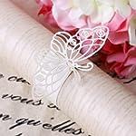 20pcs Butterfly Napkin Ring Serviette...