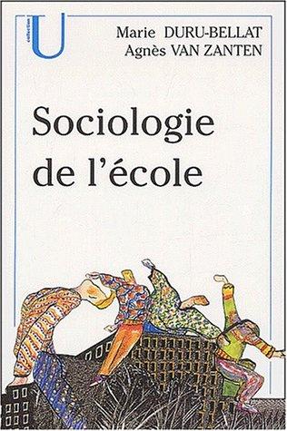 Sociologie de l'école. 2ème édition