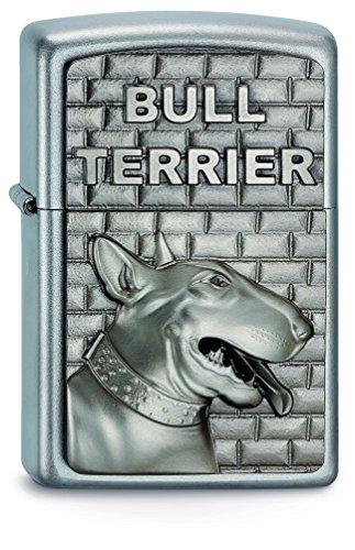 Zippo 2003544 Feuerzeug 205 Bull Terrier Emblem