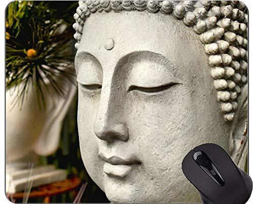 Mausunterlagen Besonders angefertigt, Ruhe-Buddha-Statuen-Skulptur-Gummimausunterlage