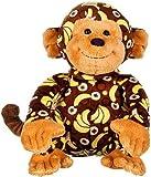 Webkinz Banana Print Monkey Plush Toy