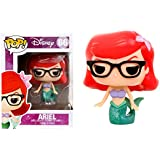 Funko - Figurine Disney - Ariel Nerd Hipster Exclu Pop 10cm - 0830395034324