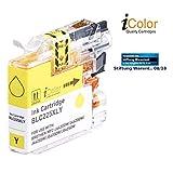 iColor Drucker Tinte: Tintenpatrone für Brother (ersetzt LC-225XL), Yellow (Druckerpatronen)