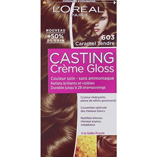 L'Oréal Paris - Casting crème gloss 603 Caramel tendre - La boite de 180ml - (pour la quantité plus que 1 nous vous remboursons le port supplémentaire)